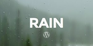 rain wordpress theme