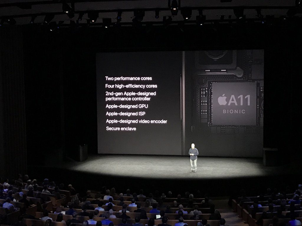 iphone 8 A11 Bionic Chip